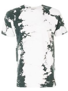 футболка с эффектом разводов краски Les (Art)Ists