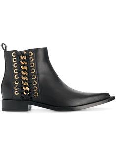 ботинки со шнуровкой сбоку Alexander McQueen