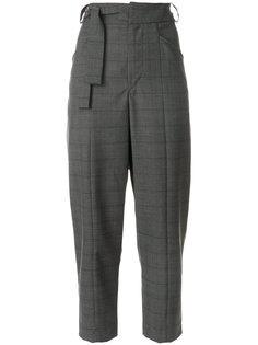 укороченные брюки с поясом  Isabel Marant Étoile