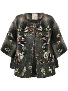 пиджак с цветочной отделкой Antonio Marras