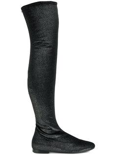 велюровые ботинки Giuseppe Zanotti Design