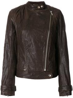 байкерская куртка на молнии Dondup