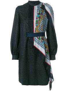 платье с деталью в виде шарфа Kolor