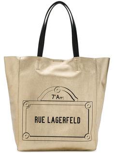 сумка-шоппер Rue Lagerfeld Karl Lagerfeld