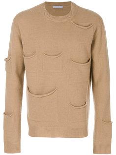 свитер с карманами JW Anderson