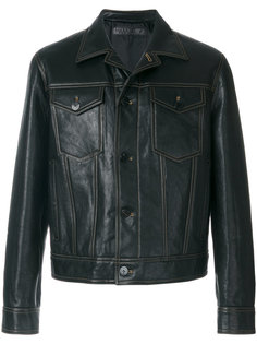 куртка с контрастной строчкой Neil Barrett