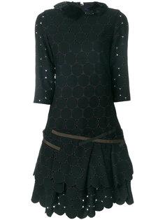 платье с многослойным подолом Kolor