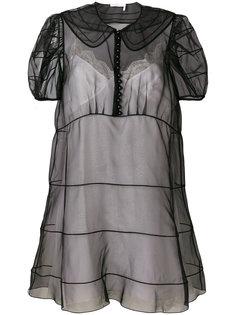 многослойное платье Chloé