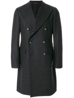 двубортое пальто Tagliatore