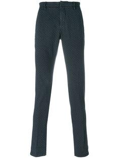 приталенные брюки строго кроя Dondup