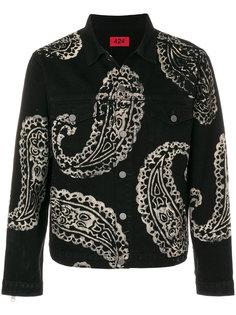 куртка с принтом пейсли 424 Fairfax