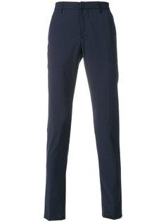 приталенные брюки строгого кроя Dondup
