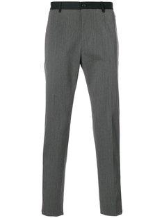 брюки с контрастными полосками Gabardine Dolce & Gabbana
