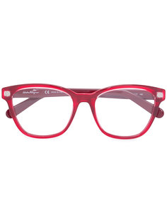 square-frame optical glasses Salvatore Ferragamo Eyewear