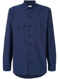 рубашка с нагрудными карманами Salvatore Piccolo