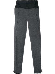 спортивные брюки с контрастными панелями Kolor