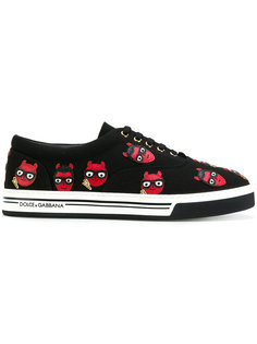 кроссовки Brooklyn с нашивкой Dolce & Gabbana