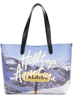 сумка-шоппер с принтом гор Hogan