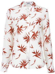 foliage print silk shirt Tufi Duek