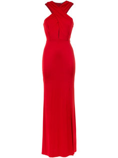 front slit gown Tufi Duek