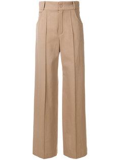 брюки с завышенной талией Chloé