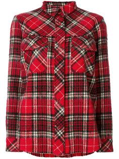 рубашка в шотландскую клетку Aspesi