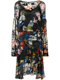 платье Amias с цветочным узором Preen By Thornton Bregazzi