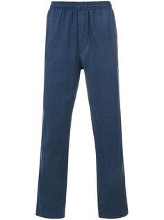 брюки с эластичным поясом Stussy