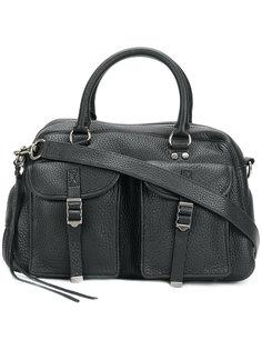 сумка-тоут с карманами в стиле милитари Rebecca Minkoff
