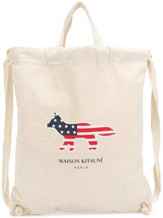 рюкзак America Fox Maison Kitsuné