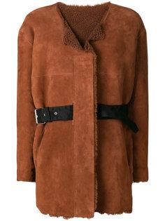 двустороннее пальто Alison Isabel Marant