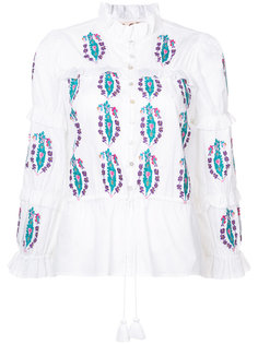 Adeline embroidered blouse Figue