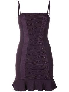 платье с пуговицами  Misha Collection