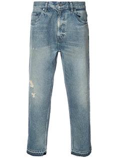 укороченные джинсы John Elliott