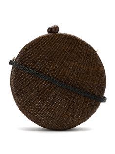 straw Maggie clutch Serpui