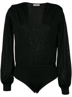 Flor knit body Egrey