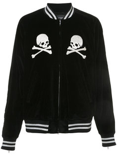 куртка-бомбер с вышивкой логотипа Mastermind Japan