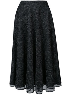 юбка А-образного кроя из люрекса Patbo