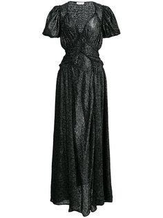 вечернее платье с глубоким вырезом Attico