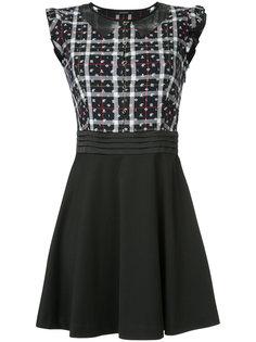 приталенное расклешенное платье Loveless