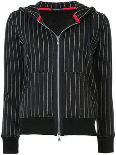 куртка в полоску с капюшоном Loveless
