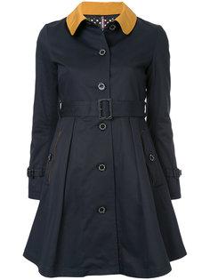 пальто с контрастным воротником Guild Prime