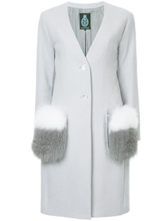 пальто с пушистыми карманами Guild Prime