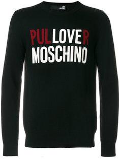 джемпер с логотипом Love Moschino