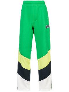 спортивные брюки дизайна колор-блок Fenty X Puma