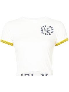 укороченная винтажная футболка Fenty X Puma Fenty X Puma