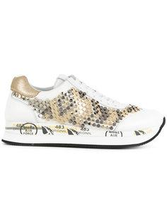 кроссовки с заклепками Premiata