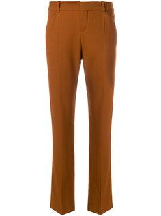 строгие брюки клеш Chloé