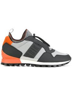 кроссовки с панельным дизайном Dirk Bikkembergs