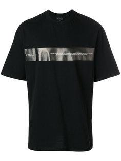 футболка с контрастной панелью Letasca
